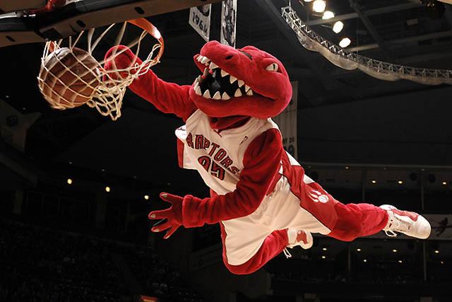 Las mascotas de la Conferencia Este  de la NBA por viva basquet