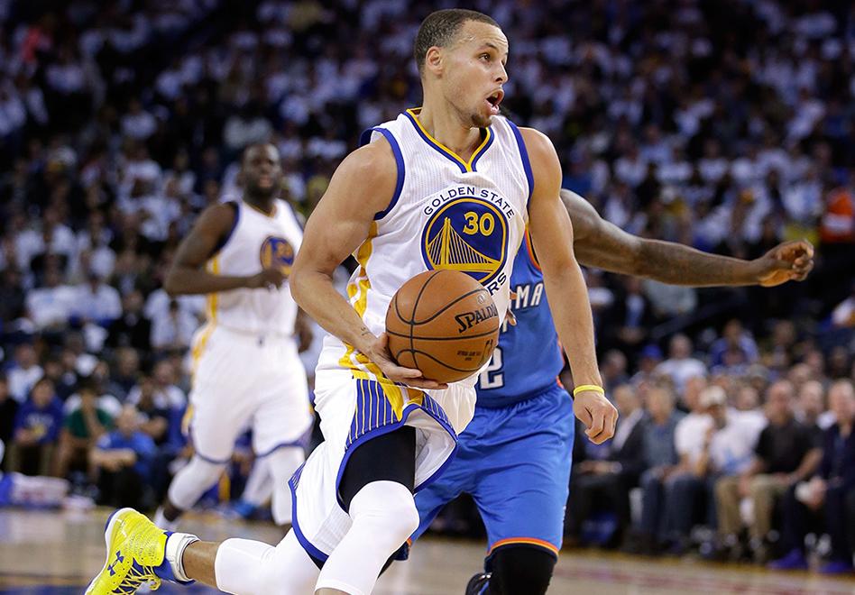 Stephen Curry le pisa los talones a LeBron por viva basquet