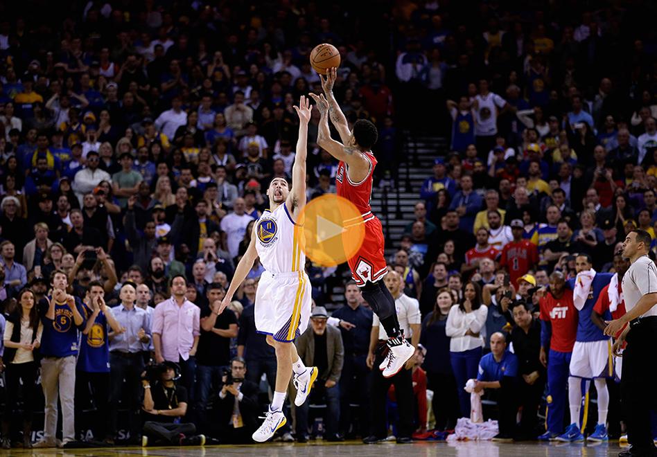 Derrick Rose y los Bulls frenan la racha de los Warriors por viva basquet