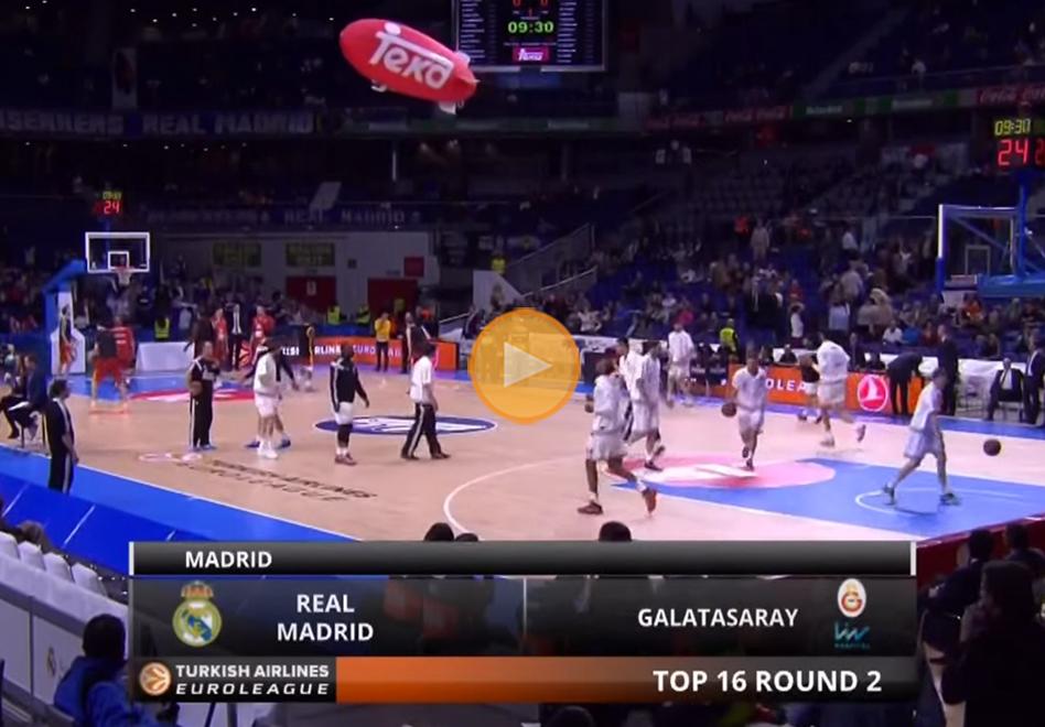 Segunda victoria de Real Madrid en el Top-16 de Euroliga por viva basquet