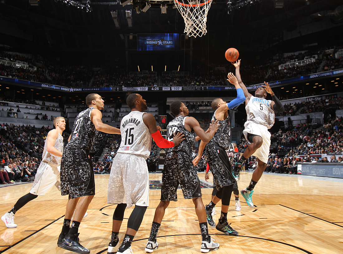 Victor Oladipo Copyright 2015 NBAE (Photo by Nathaniel S. Butler/NBAE via Getty Images