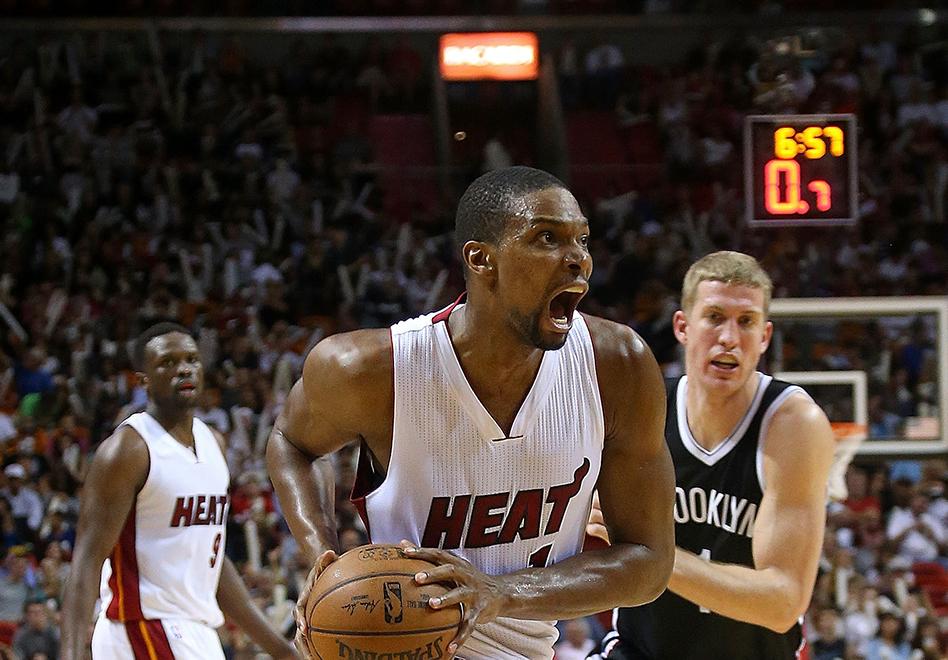 Recupérate pronto, Chris Bosh por viva basquet