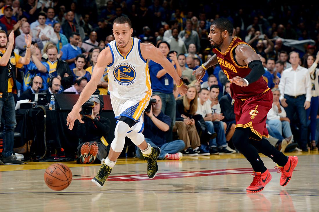 Cavaliers y Warriors de poder a poder por viva basquet