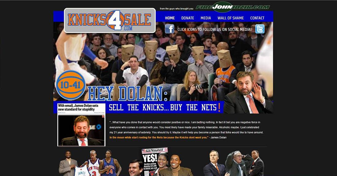 Los Knicks de mal en peor por viva basquet