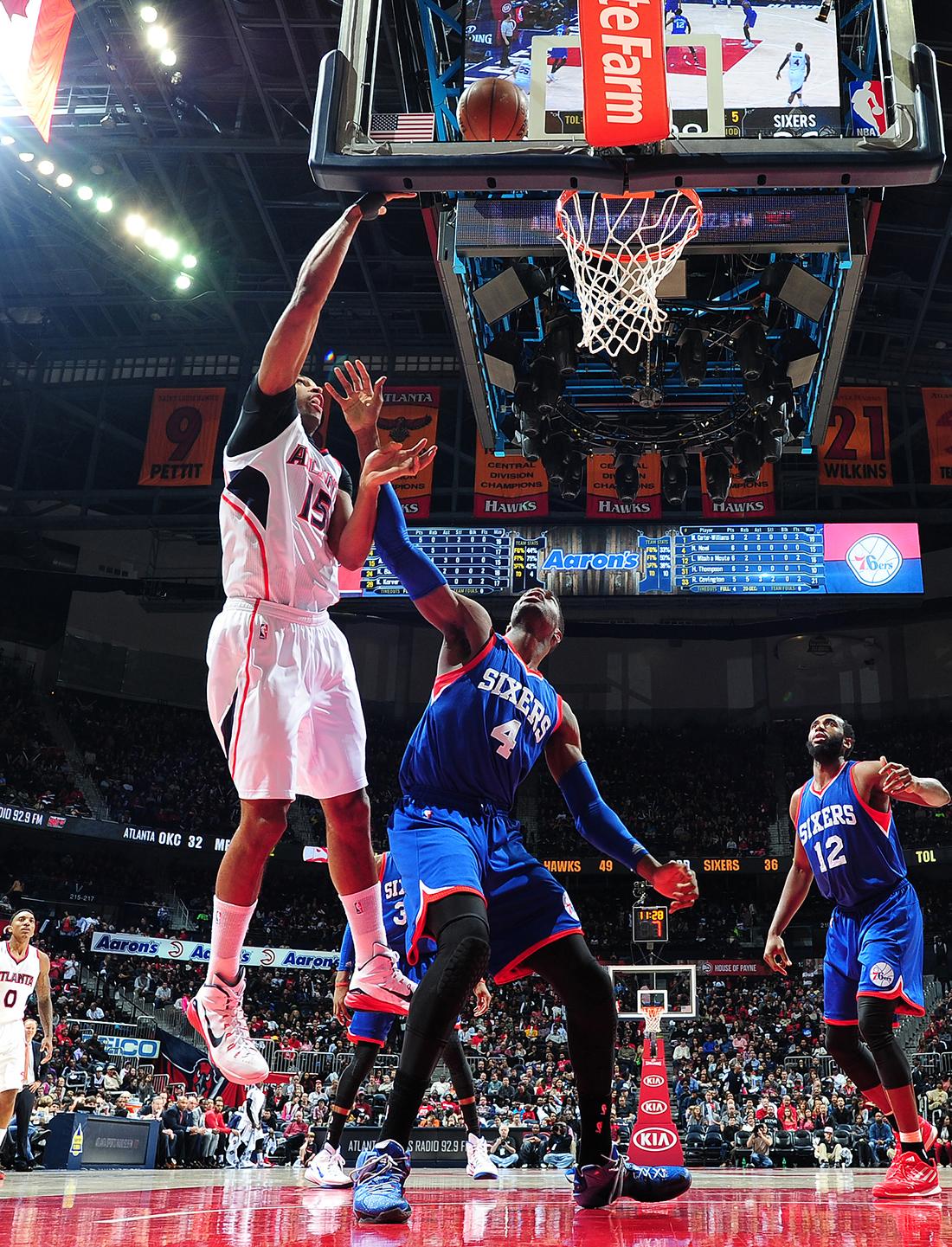 Los Atlanta Hawks hacen historia en la NBA por viva basquet