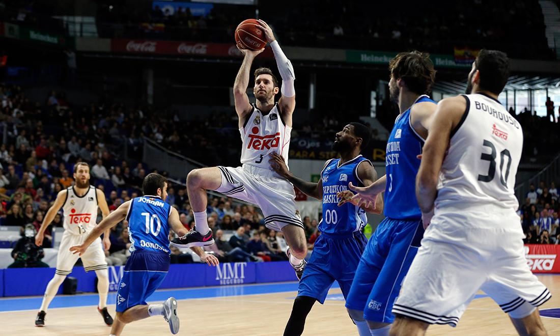 Otra victoria para el Real Madrid en la Liga Endesa por viva basquet