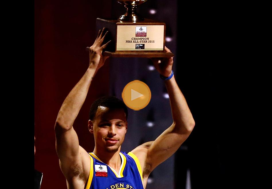 Stephen Curry, flamante campeón en los triples por viva basquet