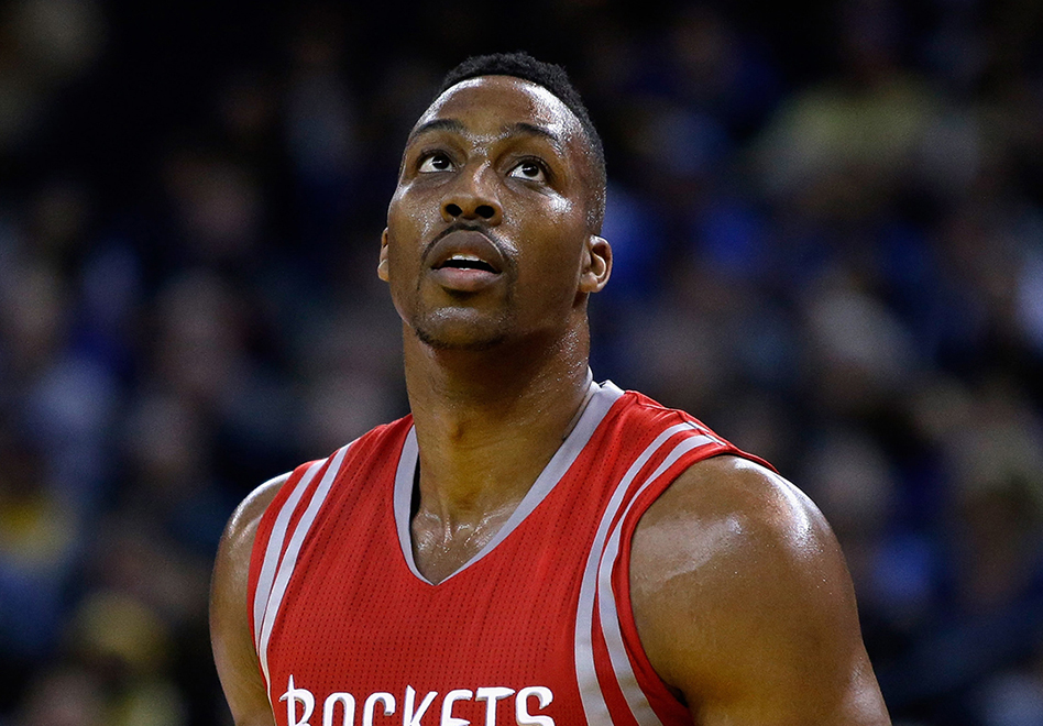 Los Rockets pierden a Dwight Howard por viva basquet