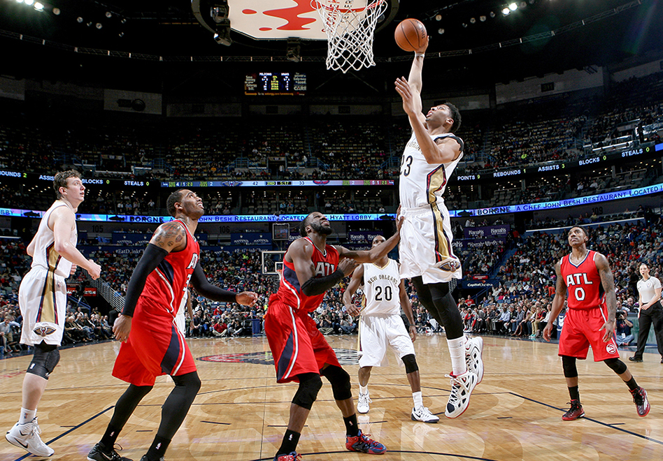 Los Pelicans ponen fin a la racha de los Hawks por viva basquet
