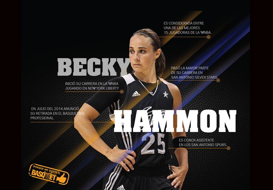 Becky Hammon en Viva Basquet.