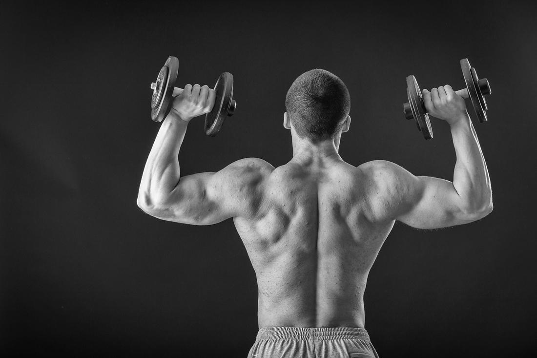 Tips para ejercitar brazos y hombros. por Viva Basquet