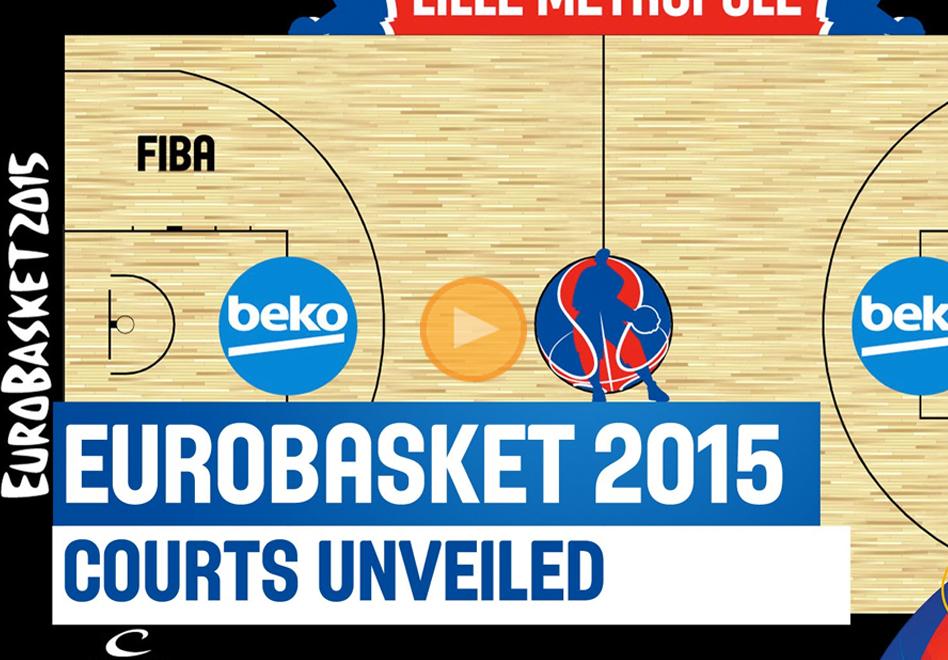 Listas las duelas del Eurobasket 2015 por Viva Basquet
