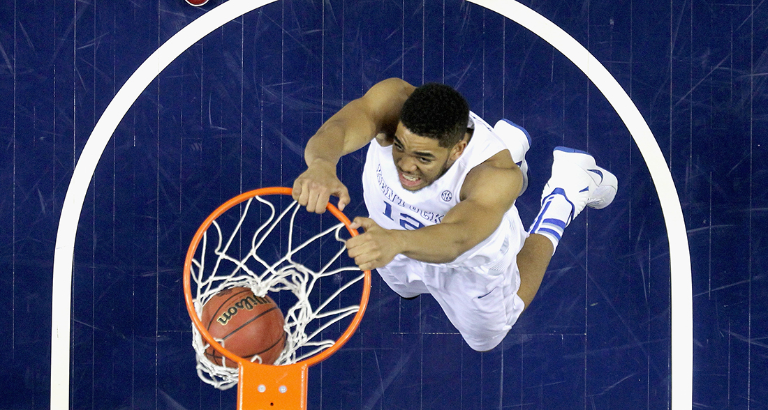 Karl-Anthony Towns Photo by Andy Lyons/Getty Images