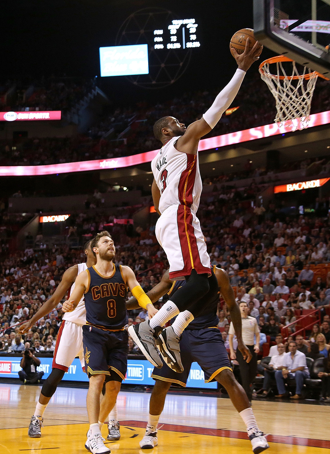 Dwyane Wade Photo by Mike Ehrmann/Getty Images
