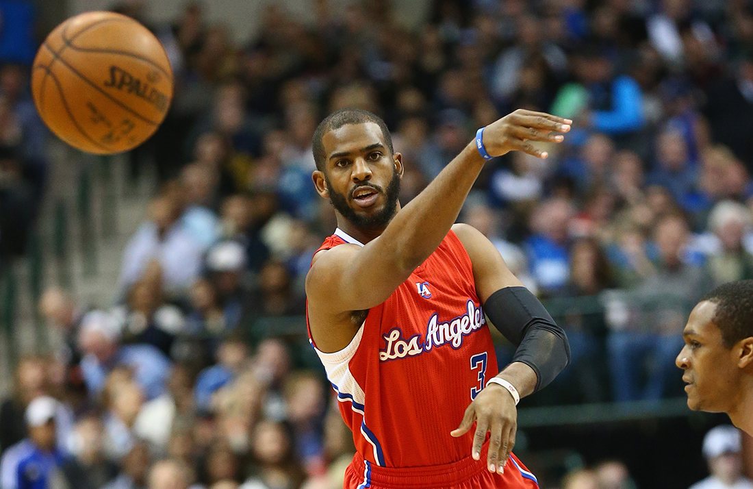 Chris Paul Photo by Ronald Martinez/Getty Images