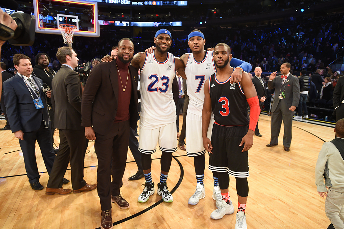 Copyright 2015 NBAE (Photo by Andrew D. Bernstein/NBAE via Getty Images)