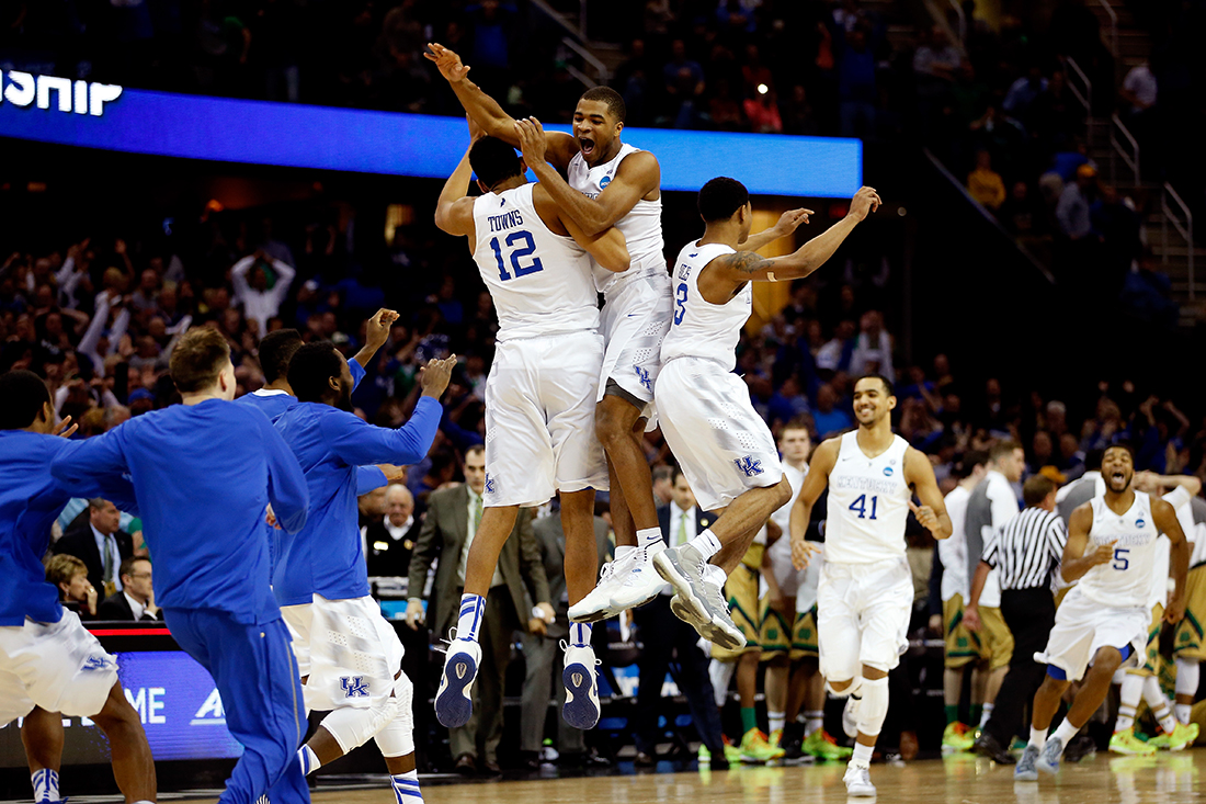 Kentucky y Wisconsin con boleto al Final Four por viva basquet