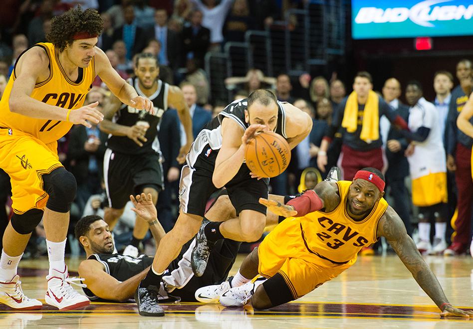 Cuidado LeBron, vienen los Spurs por viva basquet