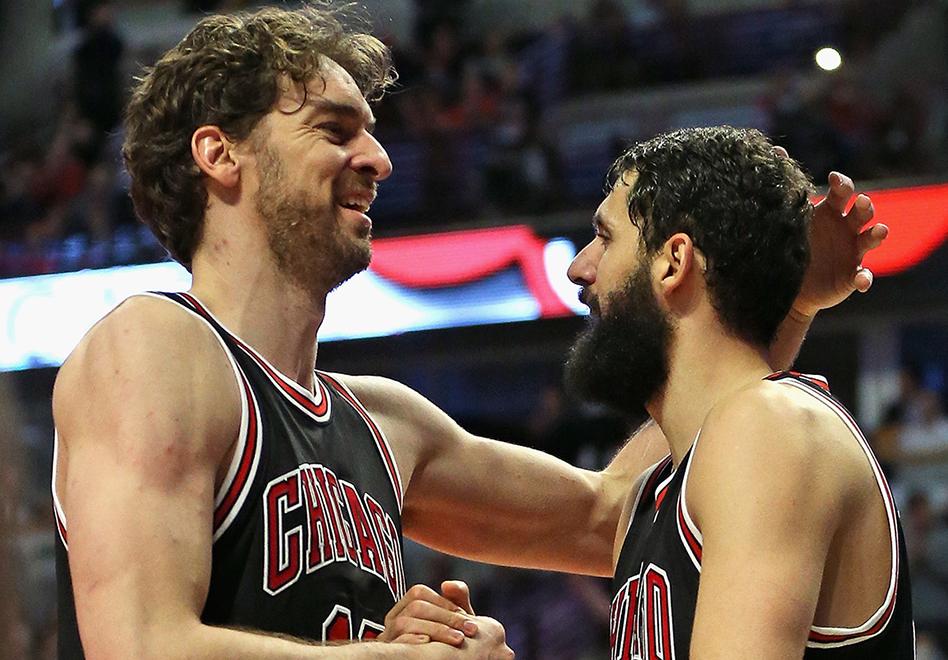 Gasol y Mirotic ponen a los Bulls en playoffs por viva basquet