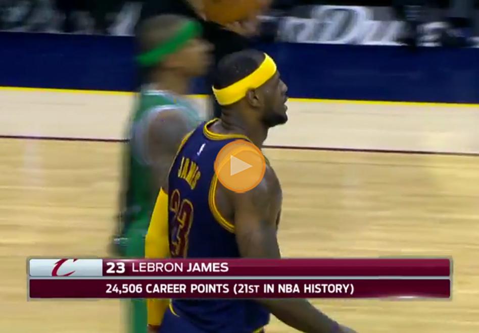 LeBron James sigue haciendo historia por viva basuqet