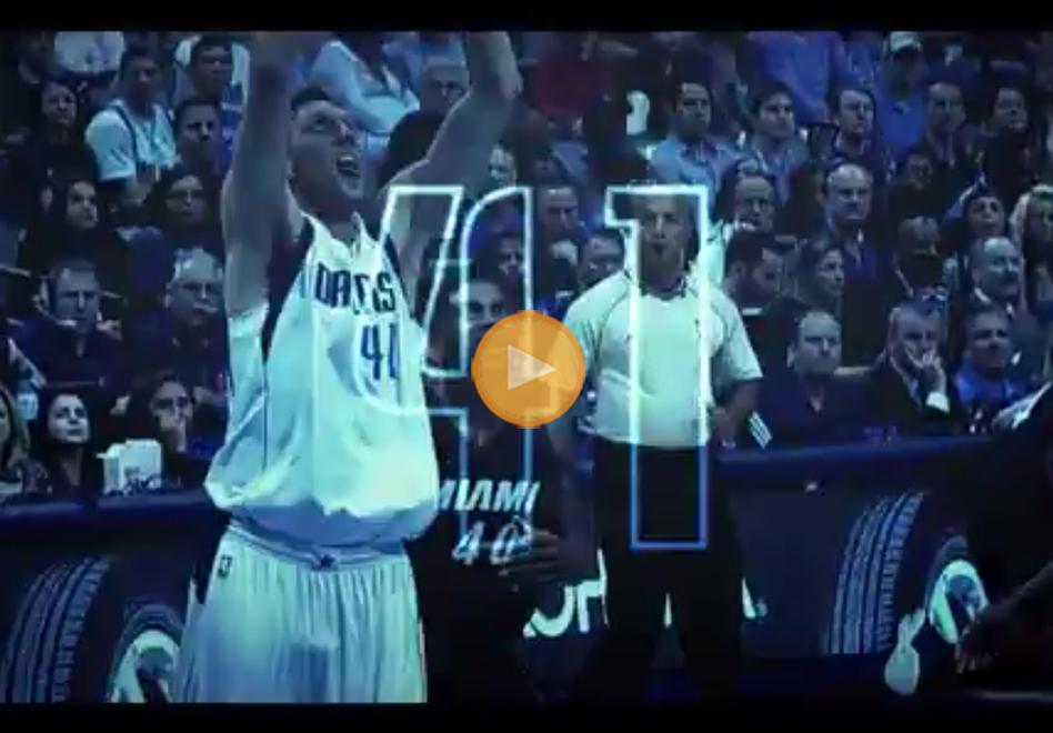 Disfruten de Dirk Nowitzki antes de que se vaya por viva basquet