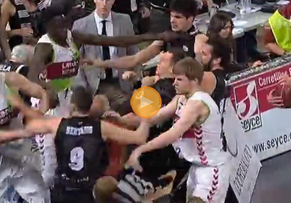 Castigan a los peleoneros de la Liga Endesa por viva basquet