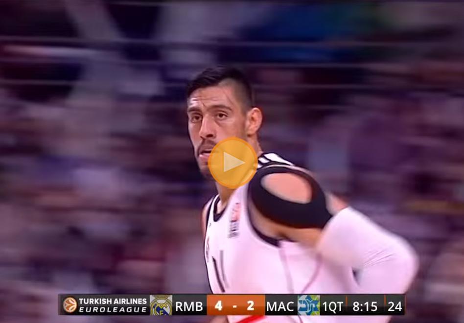 Regreso en grande de Gustavo Ayón con el Madrid por viva basquet