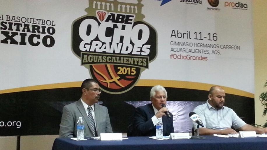 Todo listo para los Ocho Grandes de la ABE en Aguscalientes por viva basquet