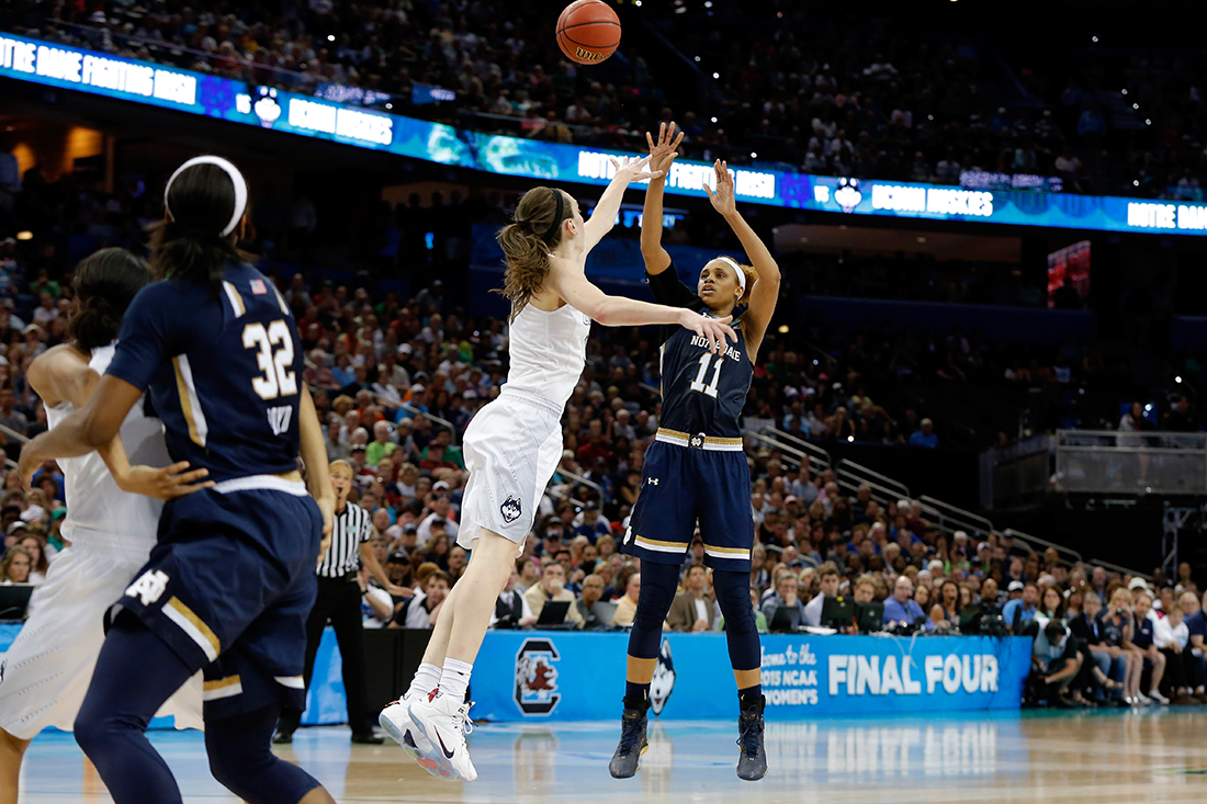 Brianna Turner Photo by Mike Carlson/Getty Images