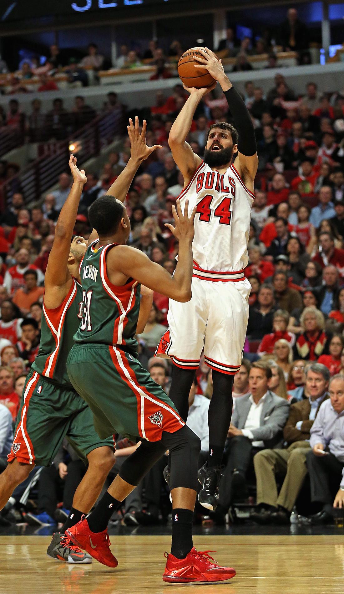 Los Bulls van sin Nikola Mirotic por viva basquet