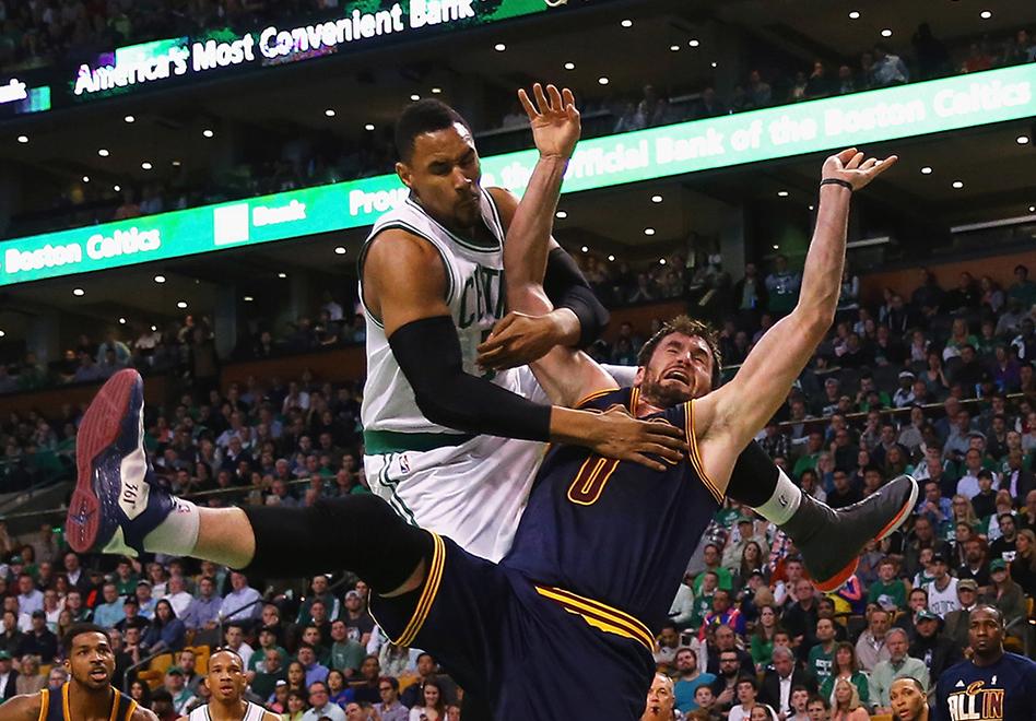 Love y LeBron ponen contra la pared a los Celtics por viva basquet