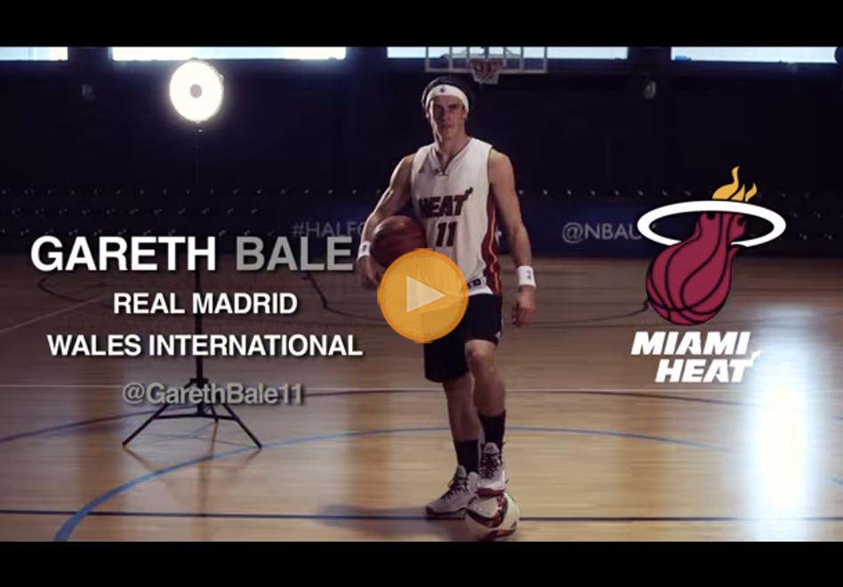 ¿Gareth Bale estrella del Real Madrid al Heat? por viva basquet