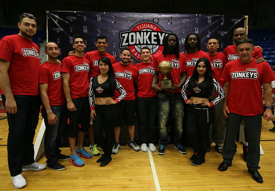 Zonkeys renovados por viva basquet