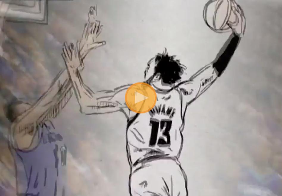 Las 10 mejores jugadas animadas por viva basquet