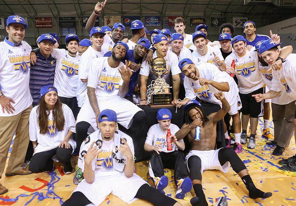 Warriors campeones en la D-League por viva basquet