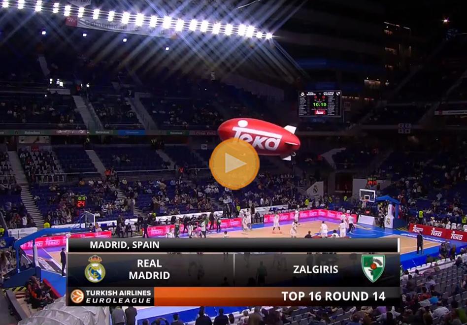 El Madrid cumple y se queda con el primer lugar en la Euroliga por viva basquet