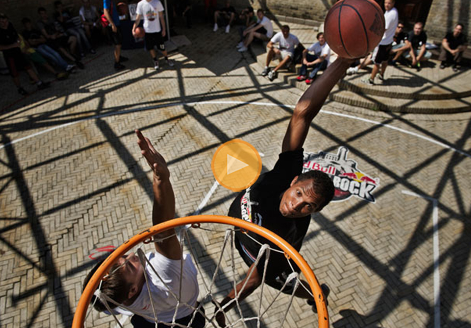 "Streetball: ""The King Of the Rock"". por viva basquet"