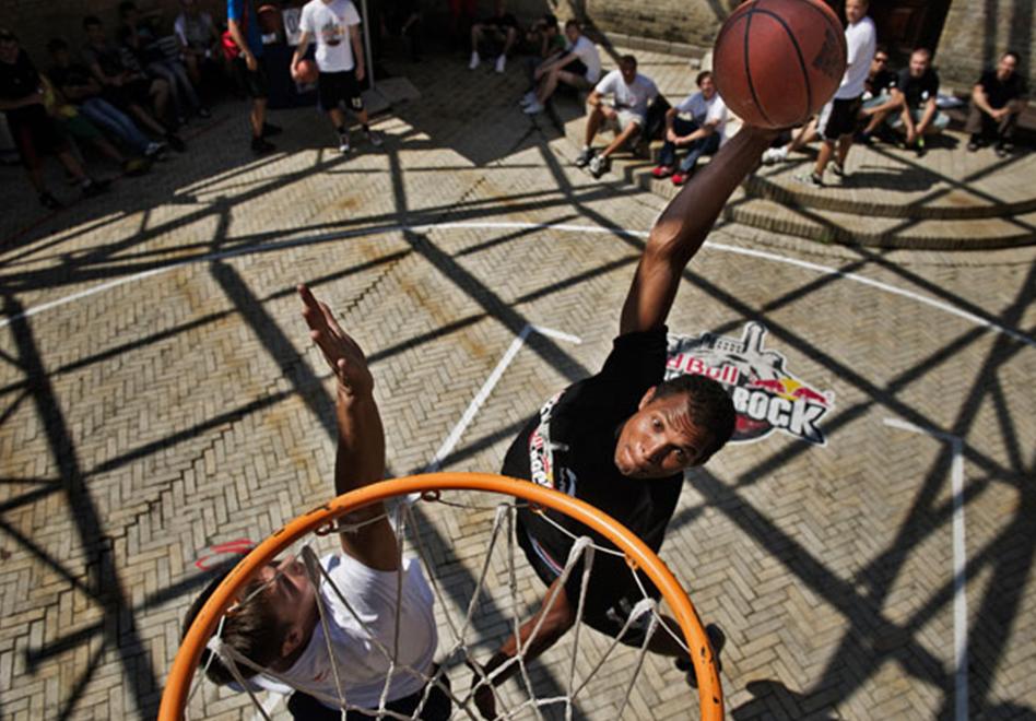 """Streetball: """"The King Of the Rock"""". por viva basquet"""