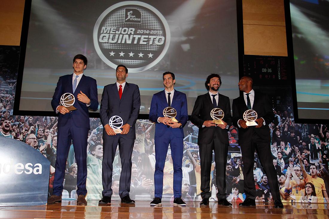 Felipe Reyes el MVP de la Liga Endesa por viva basquet