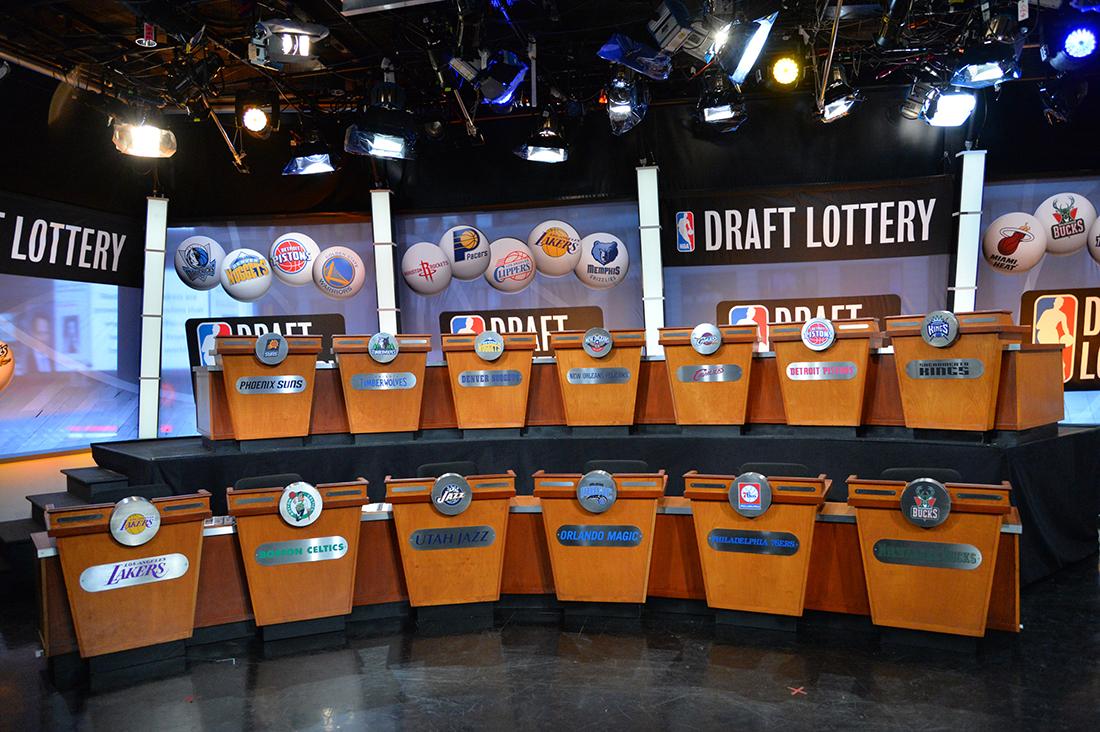 Noche de lotería en la NBA por viva basquet