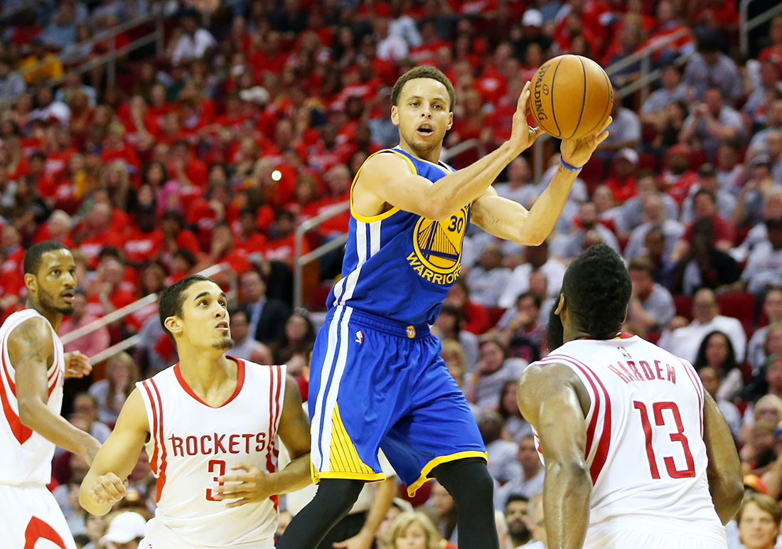 Un magistral Stephen Curry acerca a los Warriors a las Finales por viva basquet