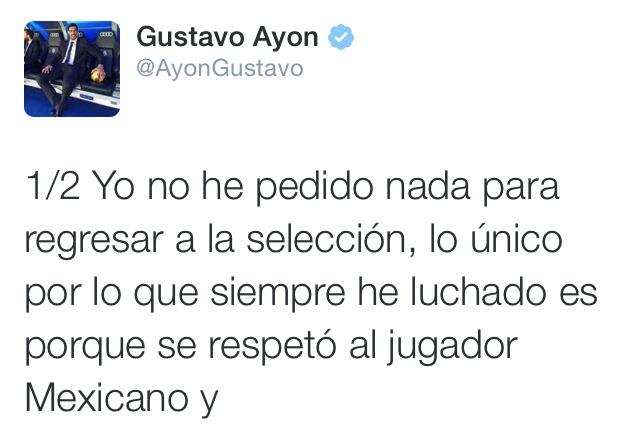 Gustavo Ayón deja clara su postura por viva basquet