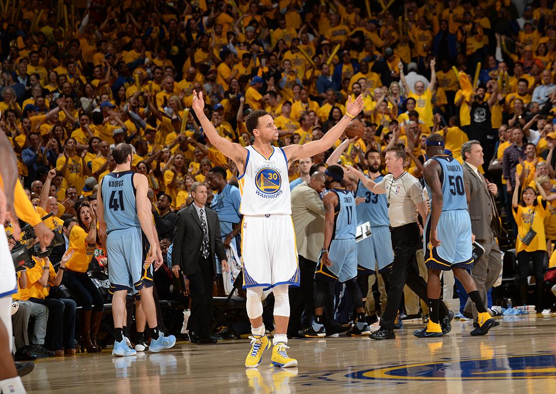 Los Warriors y Stephen Curry los favoritos por viva basquet