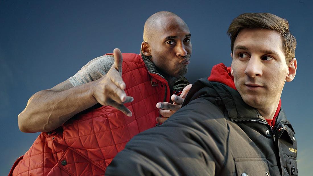 Kobe y Messi el dúo dinámico por viva basquet