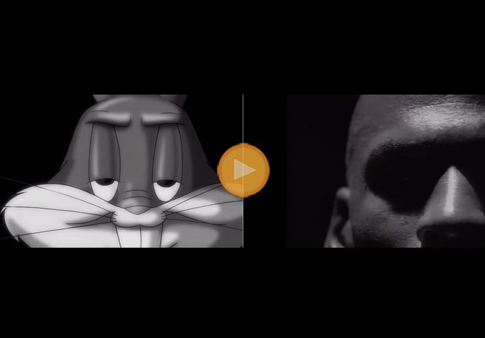 Michael Jordan y Buggs Bunny viajan en el tiempo por viva basquet