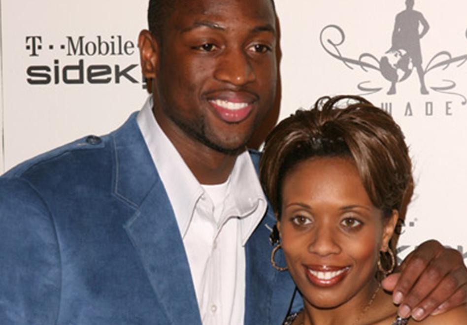 wade con su ex esposa por viva basquet