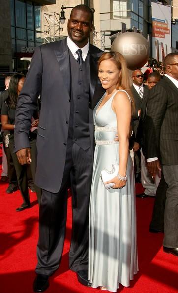 shaq con su ex esposa por viva basquet