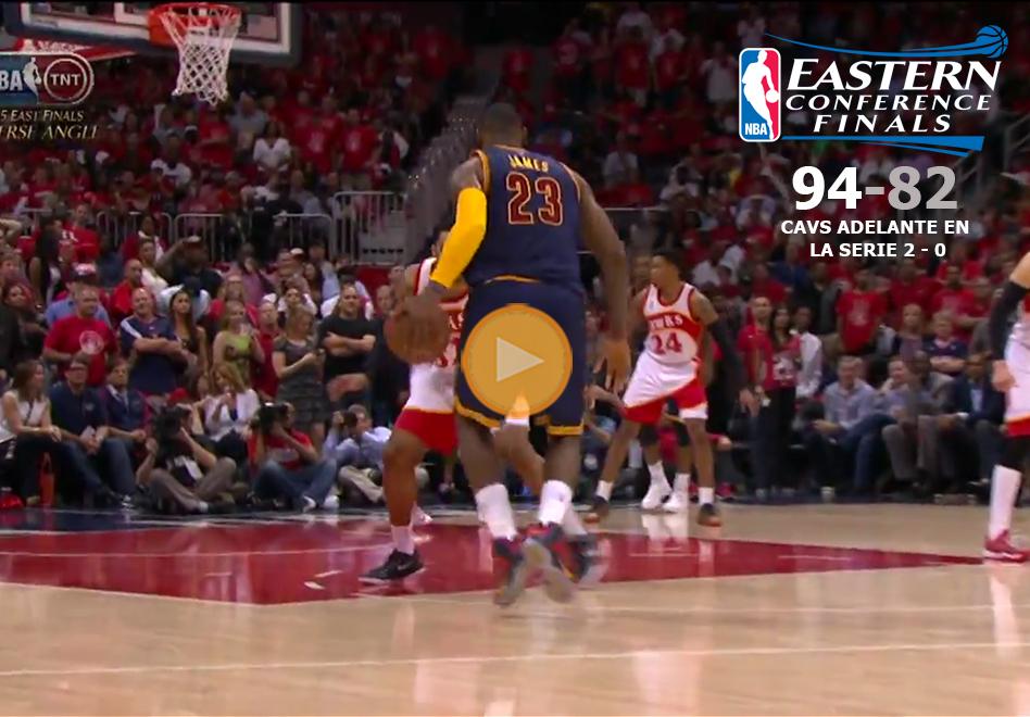 LeBron destroza a los Hawks por viva basquet