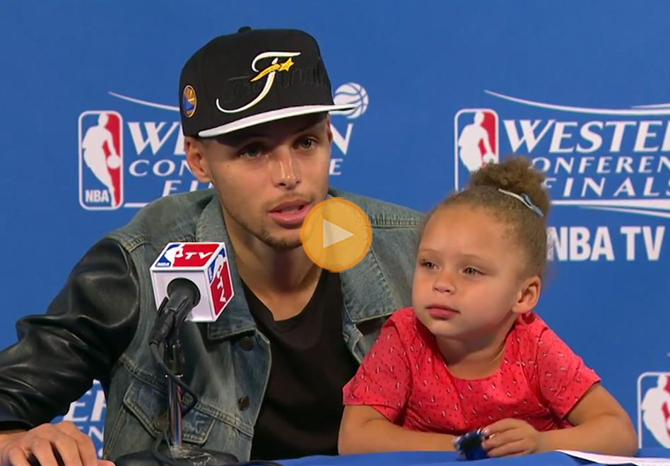 Riley Curry la nueva sensación en los Warriors por viva basquet