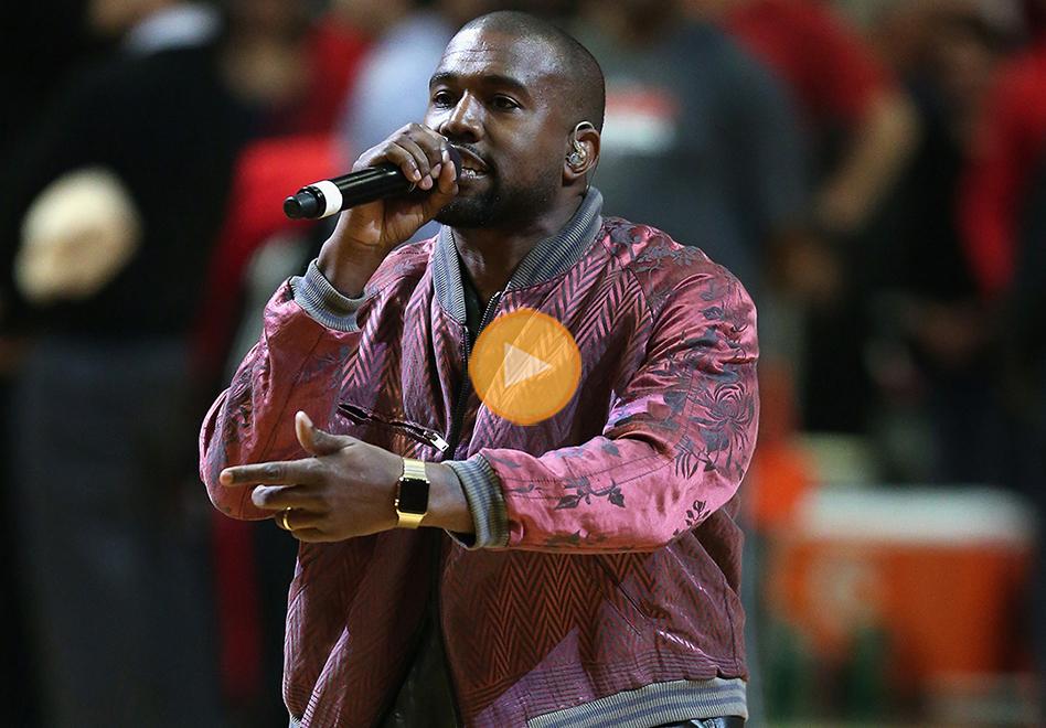 Kanye West en el United Center por Viva Basquet